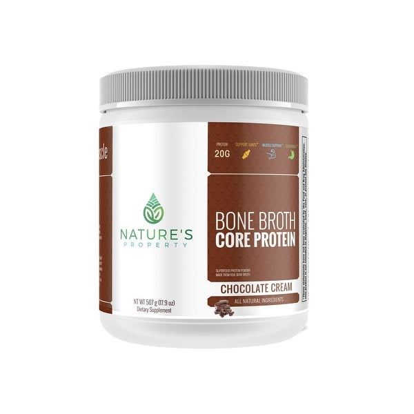 Nature's Property Bone Broth Core Protein - Chocolate Cream