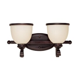 "Savoy House 8-5779-2 Willoughby 17"" Wide 2 Light Bathroom Vanity Light"