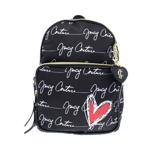 a3c996a55e65d Shop Juicy Couture Womens Love Letter Backpack Faux Leather Trim ...