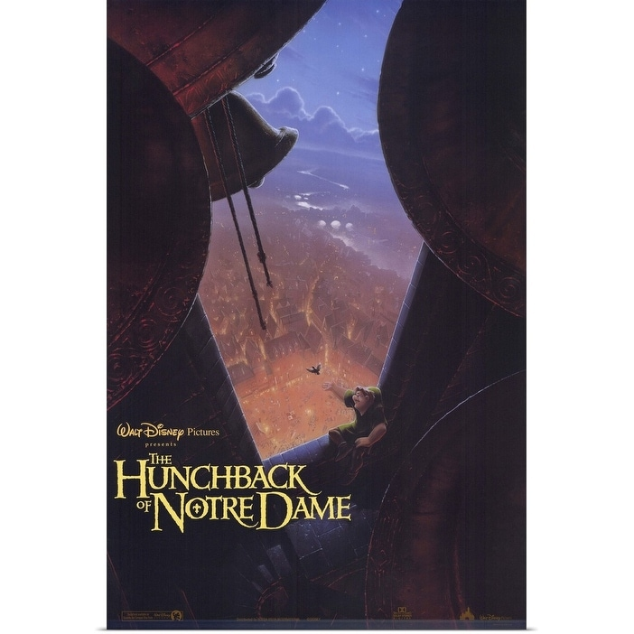 Shop The Hunchback Of Notre Dame 1996 Poster Print Overstock 25365247