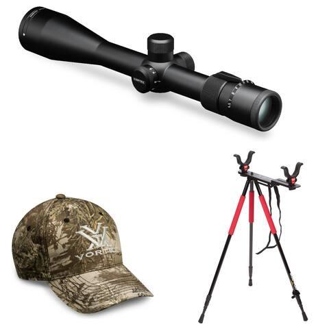 Vortex Viper 6.5-20x50 PA Riflescope (Dead-Hold MOA) w/ Tripod Bundle