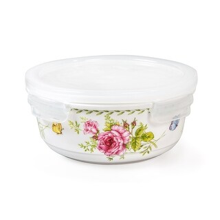 Lock & Lock Ashley 500ml /17oz Round Ceramic Bowl