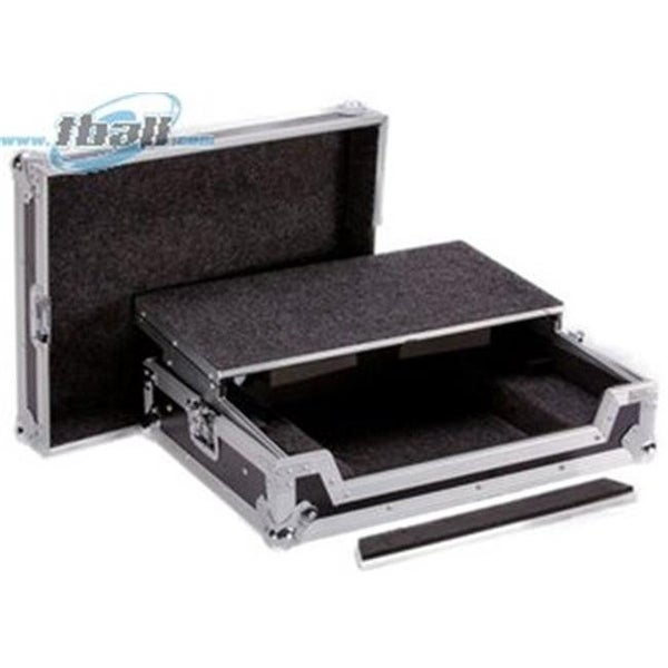 DeeJay LED Fly Drive Case for Pioneer DDJRR System with Laptop Shelf
