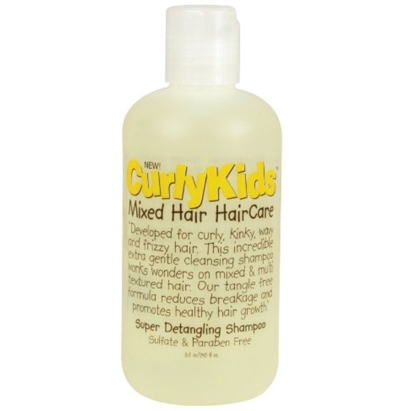 Curly Kids Super Detangling Shampoo, 8 oz