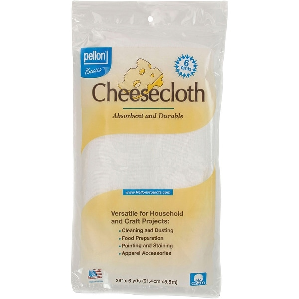 "Cheesecloth-White 36""X6yd - White"