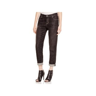 Eileen Fisher Womens Petites Boyfriend Jeans Denim Mid-Rise