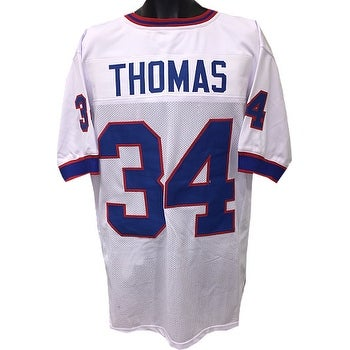 size 40 18e79 031f6 Thurman Thomas unsigned White TB Custom Stitched Pro Style Football Jersey  XL