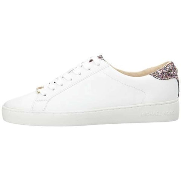 f3791ae49366 MICHAEL Michael Kors Womens irving Leather Low Top Lace Up Fashion Sneakers