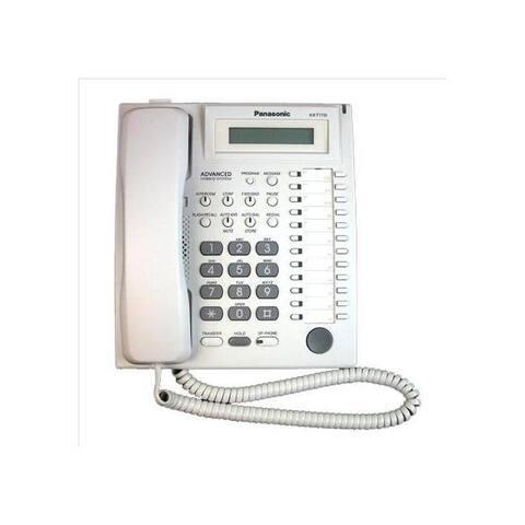 Panasonic kx-t7731 24 button speakerphone w/ lcd white