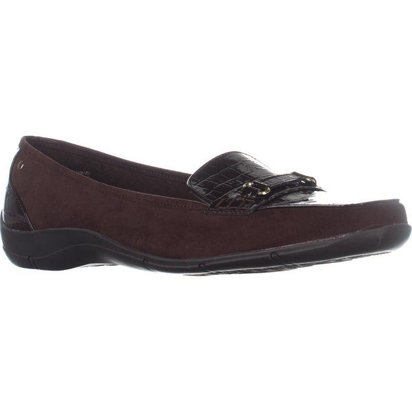 KS35 Jazmin Loafer Flats, Brown