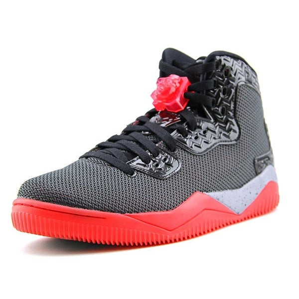 Jordan Air Spike Forty PE Men Round Toe Synthetic Black Basketball Shoe
