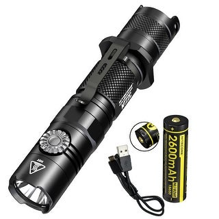 NITECORE MT22C 1000 Lumen Infinite Brightness Multitask Flashlight w/ USB Rechargeable Battery