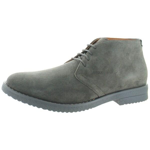 Geox Brandled Men's Suede Chukka Desert Boots