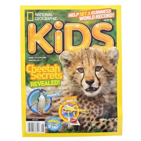 National Geographic Kids Magazine: Cheetah Secrets Revealed! (May 2017) - Multi