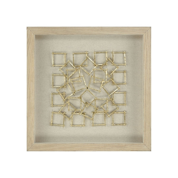 "31"" Gold Up Link Wall Decor - N/A"