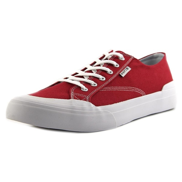 HUF Classic Hi Ess Tx Men Round Toe Canvas Red Sneakers