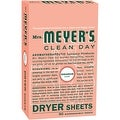 Mrs. Meyer's 80Ct Grnium Dryer Sheets - Thumbnail 0