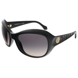 Roberto Cavalli RC794S/S 01B Shiny Black Butterfly sunglasses