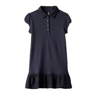 Chaps School Uniform Polo Dress Girls CCG0009H - small (4)