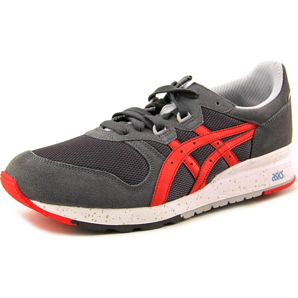 Asics Gel Epirus Men Round Toe Suede Gray Sneakers