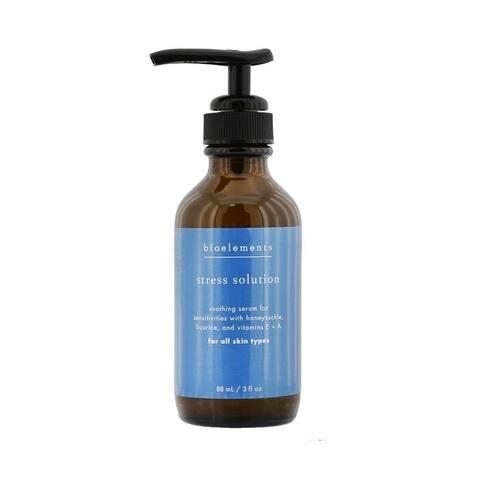 Bioelements - Stress Solution - Skin Smoothing Facial Serum (Salon Size, For All Skin Types)(88Ml/3Oz)