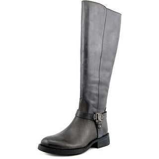 Vince Camuto Farren Round Toe Leather Knee High Boot