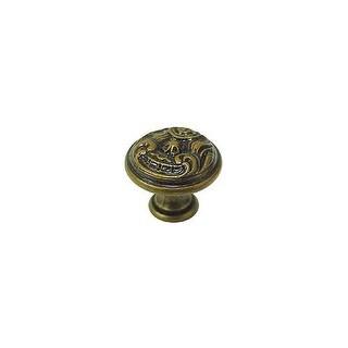 Bosetti Marella 100463 Louis XV 1 Inch Diameter Mushroom Cabinet Knob