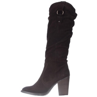 Steve Madden Womens Gambbler Closed Toe Knee High Fashion Boots