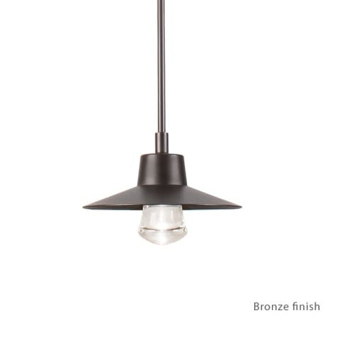 """Modern Forms PD-W1915 Suspense 1 Light 10"""" Wide LED Outdoor Pendant - 10 Inches Wide"""