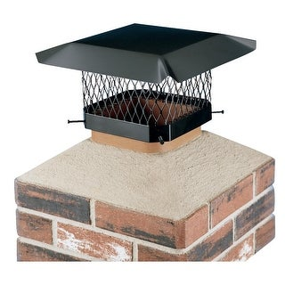 Shelter Black Chimney Cover