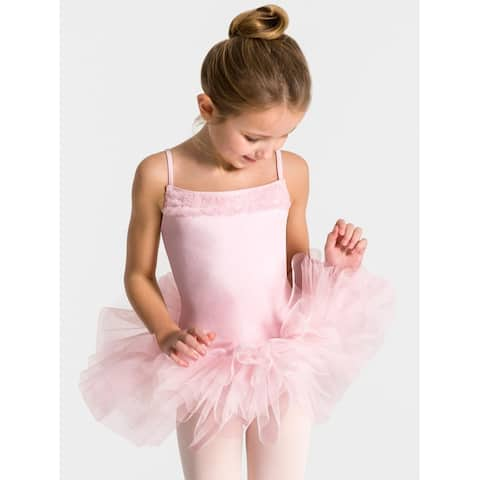 Ruffle Yoke Tutu Dress - Girls