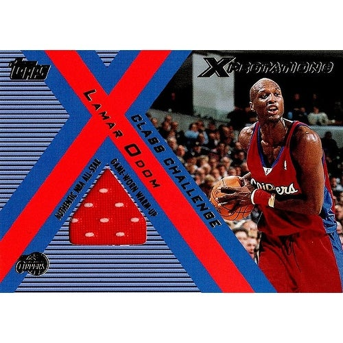 5d878714374b Shop Signed Odom Lamar Los Angeles Clippers Lamar Odom 200102 Topps  Xpectations Class Challenge Unsigned - Free Shipping On Orders Over  45 -  Overstock - ...