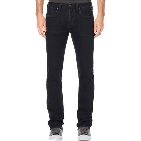 Buffalo David Bitton Mens Evan-X Relaxed Slim Fit Jeans, blue, 40W x 32L