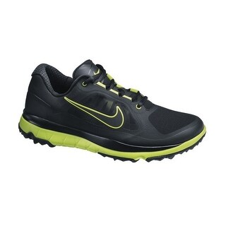 Nike Men's FI Impact Black/Venom Green/Black Golf Shoes 611510-002