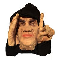 Scary Peeper Motion Activated Tapping Peeper Decoration