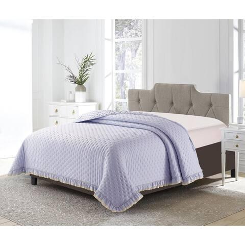 DE MOOCCI DOT Ruffled Single Bedspread