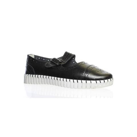 Bernie Mev Womens Tw75 Black Mary Janes Size 4.5