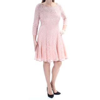 cf590a9ab4 Quick View.  29.40. SLNY Womens Pink Lace Sequined 3 4 Sleeve ...