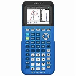 Texas Instruments Programmable Color Graphing Calculator - Black Texas Instruments TI-84 Plus CE Graphing Calculator - Battery