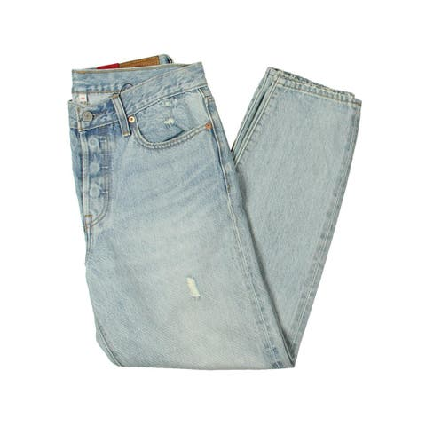 Levi's Womens Jeans Destroyed High Rise