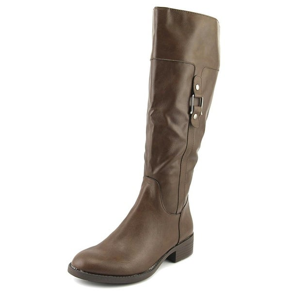 Style & Co Astarie Round Toe Suede Knee High Boot