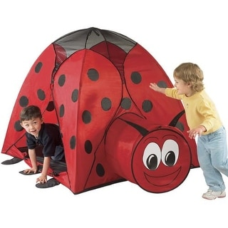 Etna Kid's Ladybug Play Tent with Tunnel