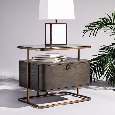 SAFAVIEH Couture Johnson 1-drawer Nightstand