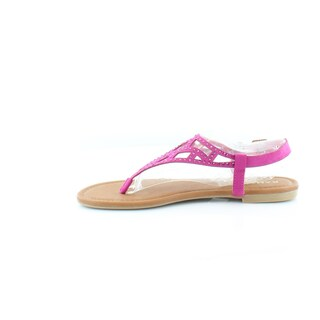 Rampage Womens Pattie Split Toe Casual T-Strap Sandals (More options available)