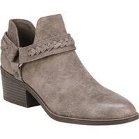 Fergalicious Women's Integrity Ankle Boot Dark Doe Oiled Fabric