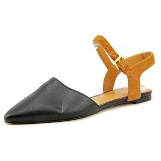 Franco Sarto Sansona Women Pointed Toe Leather Flats