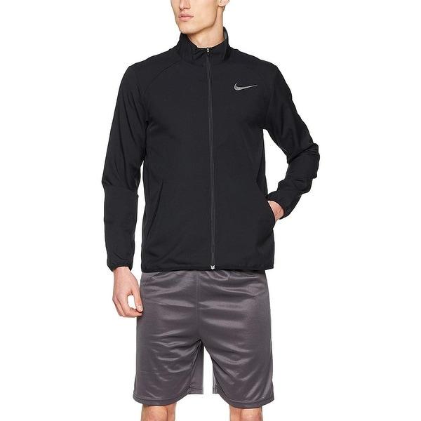 3e588ef0f132 Nike Dry Men  x27 s Running Team Training Jacket Black Size Extra Large -