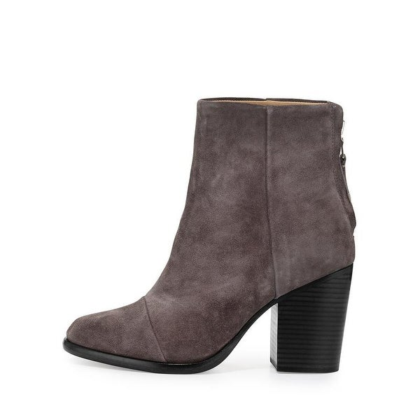 Rag and Bone Ashby Gray Suede Boots 35