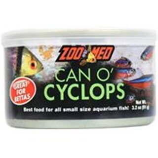ZOO MED LABORATORIES INC-ZMA-11 Can O Cyclops Fish Food