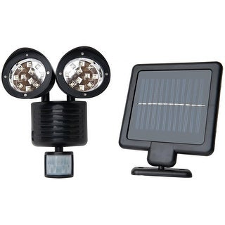 KANSTAR Outdoor Solar 22 SMD Motion Sensor Security Flood Light (Black)